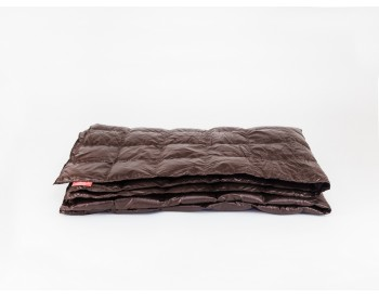 407453 Дорожное одеяло Kauffmann Travel plaid Dark brown легкое 140х200